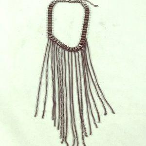 Burlesque Multi Chain Chain Choker Necklace